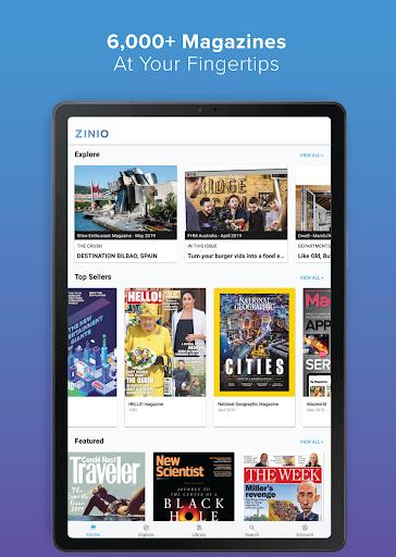 ZINIO - Magazine Newsstand 5 تصوير الشاشة