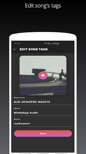 Galaxy S10/S20/Note 20 Edge Music Player 5 تصوير الشاشة