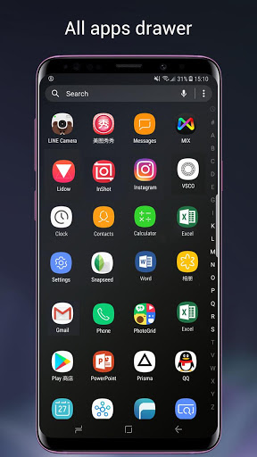 Super S9 Launcher for Galaxy S9/S8/S10 launcher screenshot 2