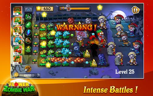 Flower Zombie War screenshot 3