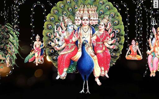 4D Lord Murugan Live Wallpaper screenshot 11