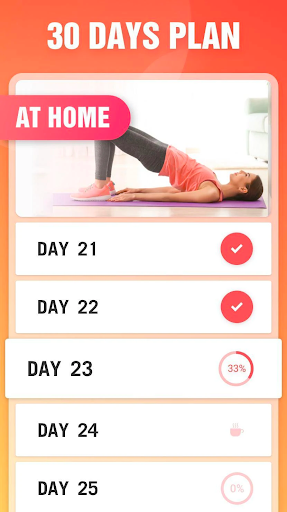Lose Weight at Home - Home Workout in 30 Days screenshot 2