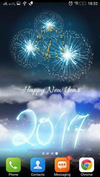 السنة الجديدة على مدار الساعة 6 تصوير الشاشة