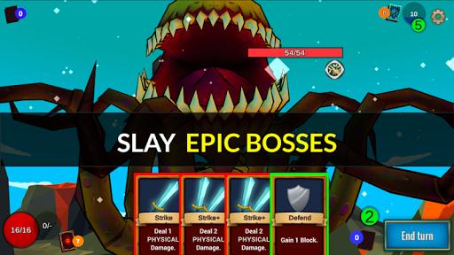 Quest Lands : Slay the Titan - Roguelike Card RPG screenshot 5