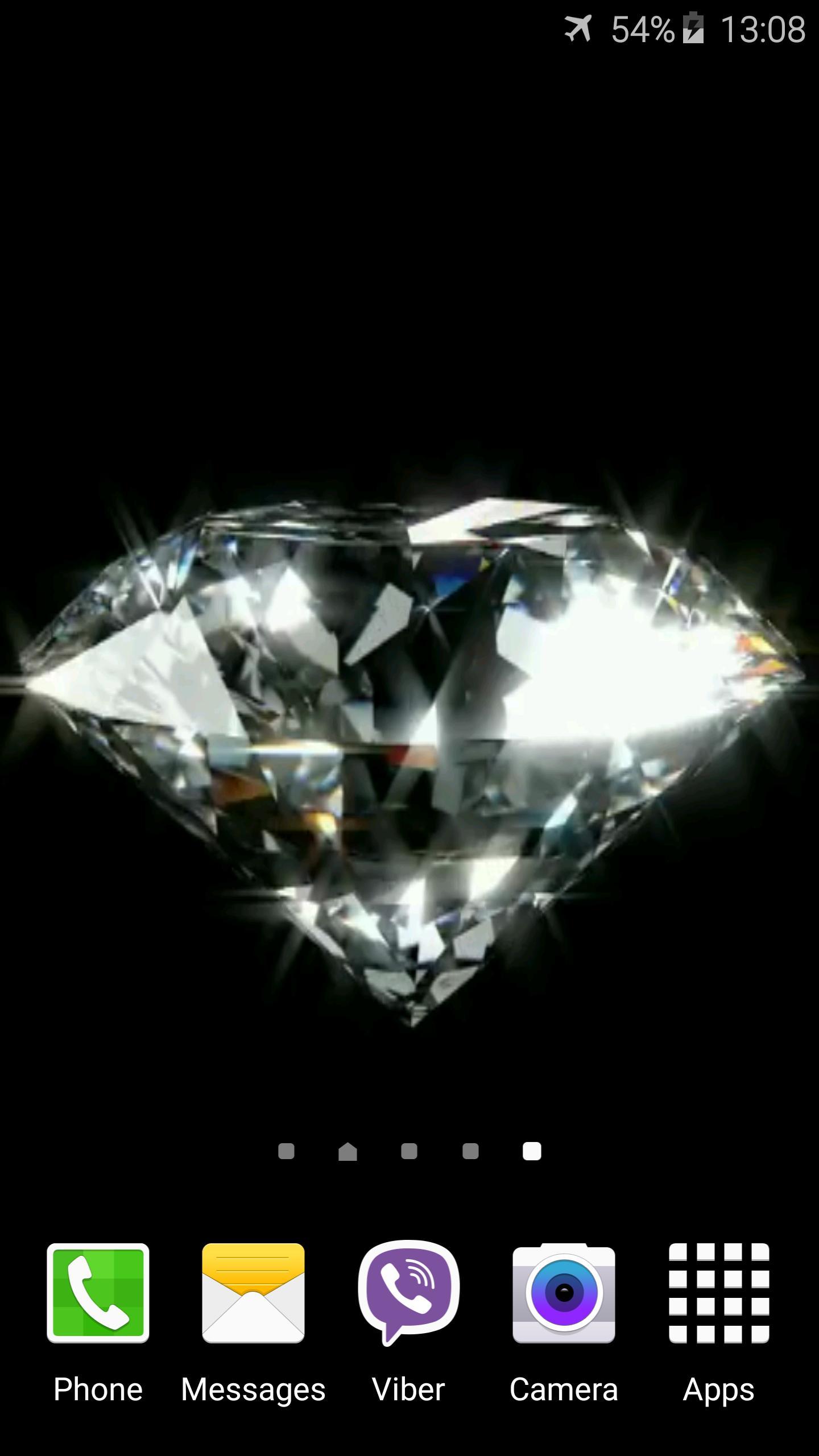 Diamond Video Live Wallpaper 2 تصوير الشاشة