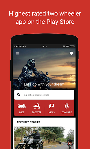 🏍 BikeDekho - New Bikes, Scooters Prices, Offers screenshot 1
