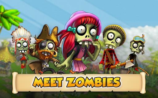 Zombie Castaways 5 تصوير الشاشة