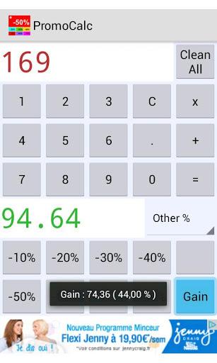 percentage calculator screenshot 3