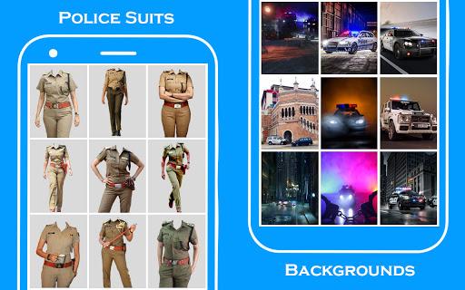 Women Police Suit Photo Editor screenshot 5