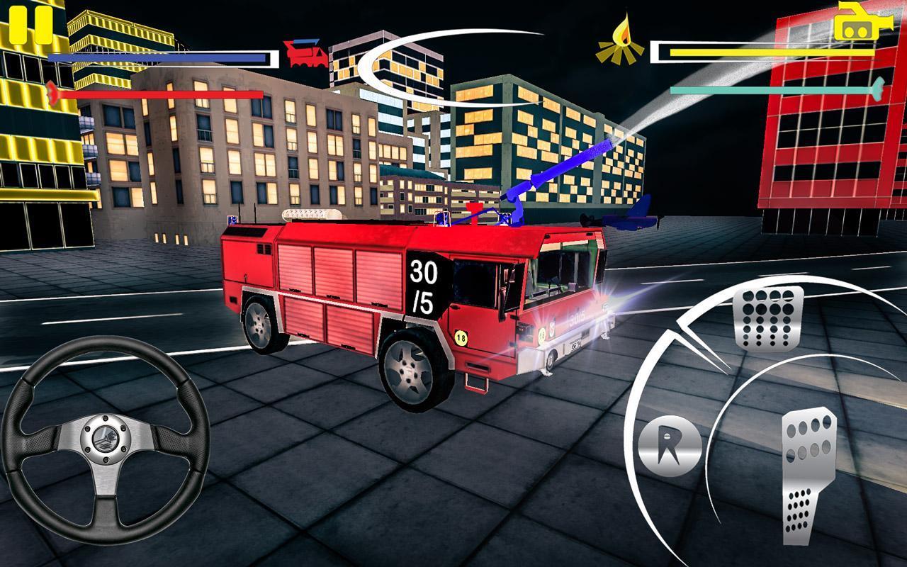 Firefighter-Fire Brigade Truck screenshot 4