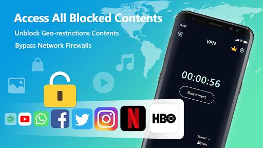 VPN Free - Unlimited Proxy & Fast Unblock Master स्क्रीनशॉट 2