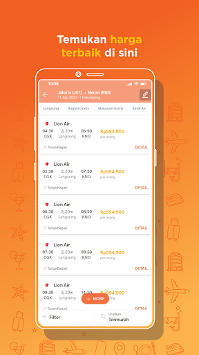Pegipegi - Beli Tiket Pesawat, Hotel, Kereta & Bus screenshot 3
