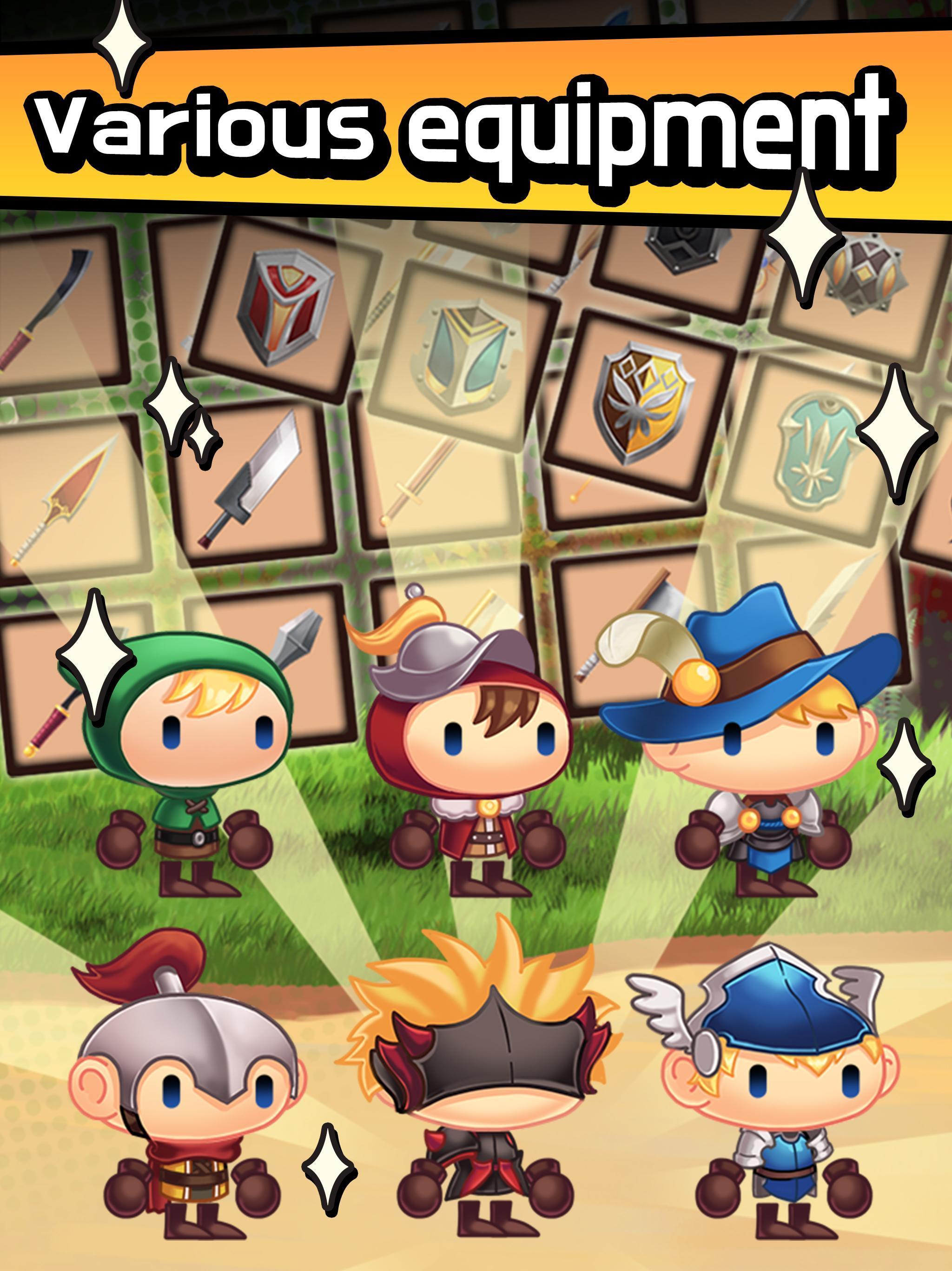 Sudden Warrior (Tap RPG) screenshot 8