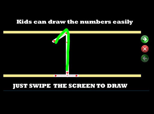 ABCD & Numbers Practice Kids screenshot 2