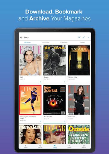 ZINIO - Magazine Newsstand 6 تصوير الشاشة