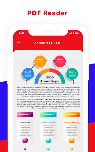 WPS PDF, Word, Excel,PowerPoint Office Suite, 2020 4 تصوير الشاشة