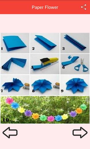 Paper Flower Craft screenshot 5