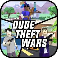 Dude Theft Wars: Online FPS Sandbox Simulator BETA on 9Apps