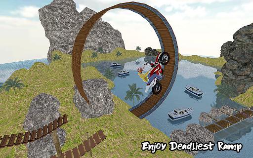 Ramp Bike Impossible Bike Stunt Game 2020 screenshot 4