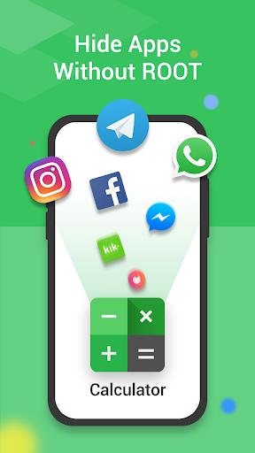 Calculator Vault : App Hider - Hide Apps screenshot 1