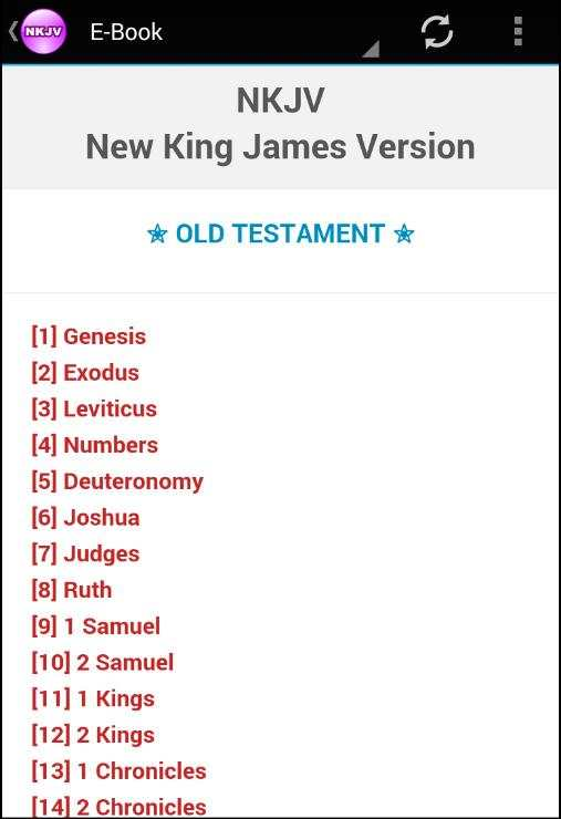NKJV Bible Free Download Offline Audio screenshot 2