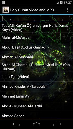 Holy Quran video and MP3 screenshot 6