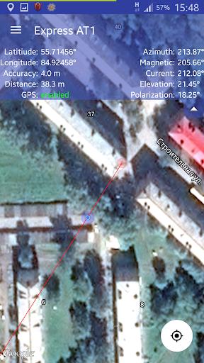 Satfinder (Dish Pointer): Quick Dish Align! screenshot 2