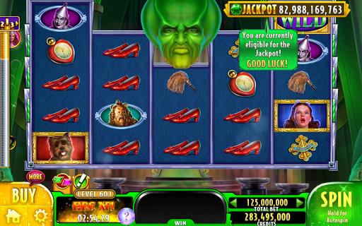 Wizard of OZ Free Slots Casino Games 12 تصوير الشاشة