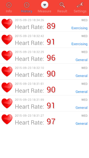 Heart Rate Monitor screenshot 2
