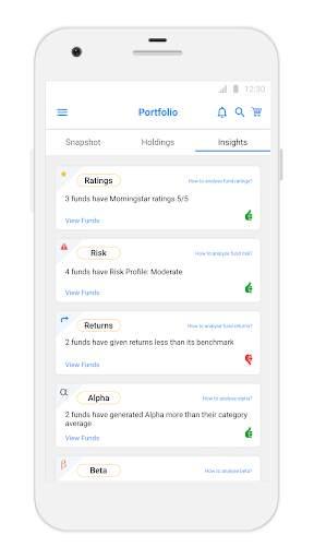 Karvy Nivesh - Mutual Fund, SIP, Investment App screenshot 5