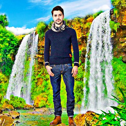 Waterfall Photo Editor - Photo Frames أيقونة