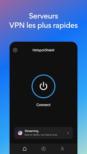 Hotspot Shield Gratuit VPN Proxy & Sécurité WiFi screenshot 2