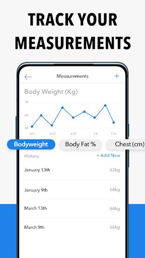 Hevy - Workout Tracker Planner Weight Lifting Log 6 تصوير الشاشة