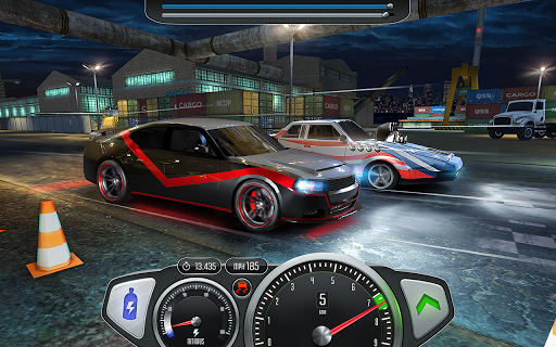 Top Speed: Drag & Fast Racing 3D 1 تصوير الشاشة