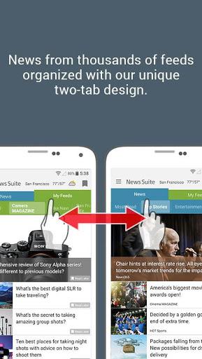 News Suite by Sony 1 تصوير الشاشة