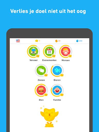 Leer Engels met Duolingo screenshot 10