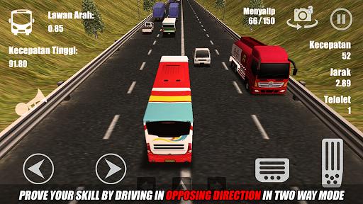 Telolet Bus Driving 3D screenshot 5