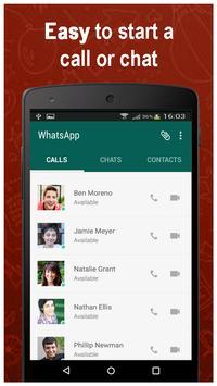 Video Calling for whatsap 1 تصوير الشاشة