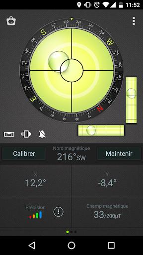 Boussole Niveau et GPS screenshot 1