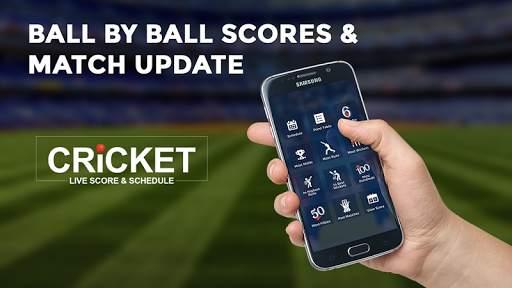 Cricket Live Score & Schedule 3 تصوير الشاشة