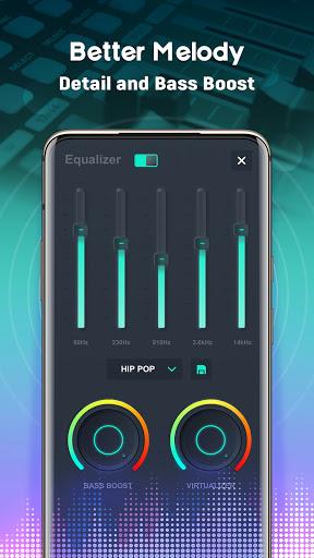 Volume Booster EQ - Louder & Mega Bass, Equalizer screenshot 4