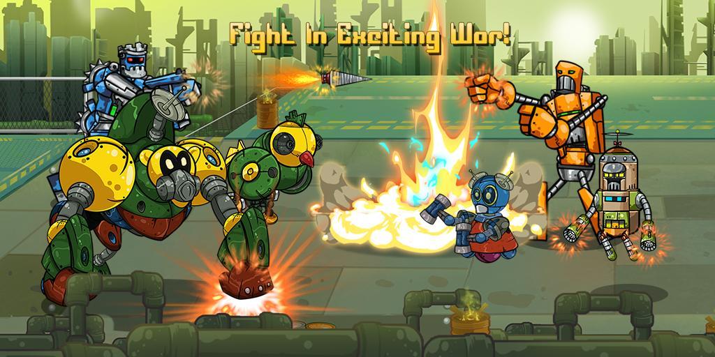 Robot Evolved : Clash Mobile 1 تصوير الشاشة