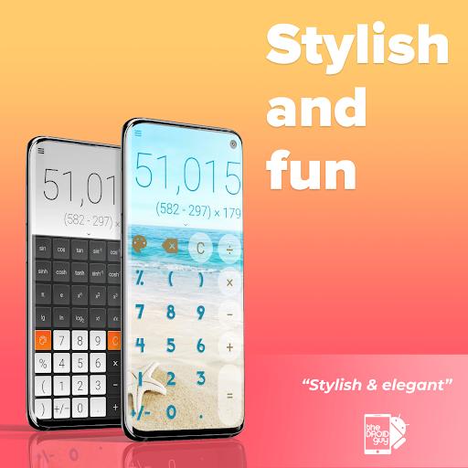 Stylish Calculator Free - CALCU™ screenshot 2