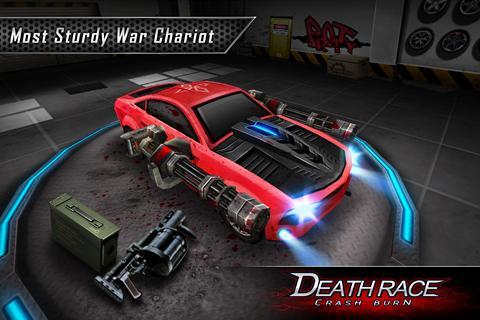 Fire Death Race:Crash Burn 2 تصوير الشاشة