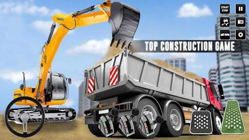 City Construction Simulator: Forklift Truck Game screenshot 1