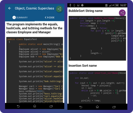 Learn Java: java tutorial screenshot 8
