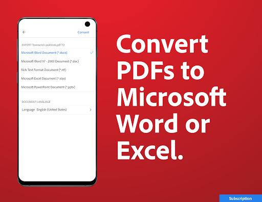 Adobe Acrobat Reader: PDF Viewer, Editor & Creator 7 تصوير الشاشة