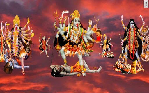 4D Maa Kali Live Wallpaper 13 تصوير الشاشة