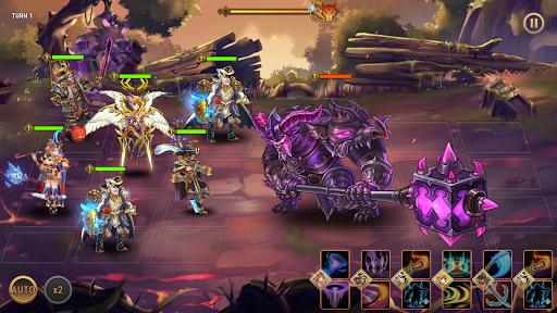 Fantasy League: Strategi RPG berbasis giliran screenshot 7