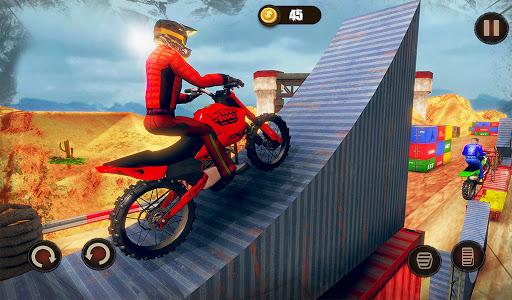 Impossible Bike Stunt Master 3D - New Moto Bike 9 تصوير الشاشة